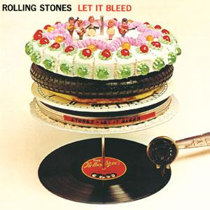 Rare Vinyl Records - Rolling Stones - Let it Bleed